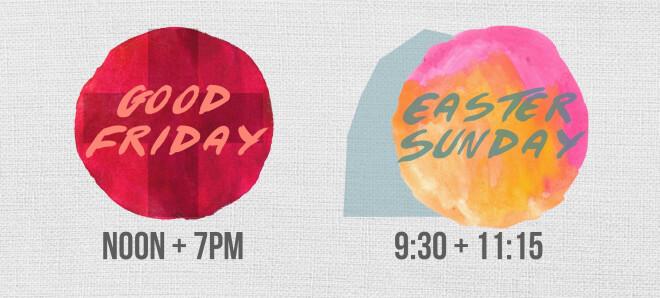Good Friday & Easter at Harvest