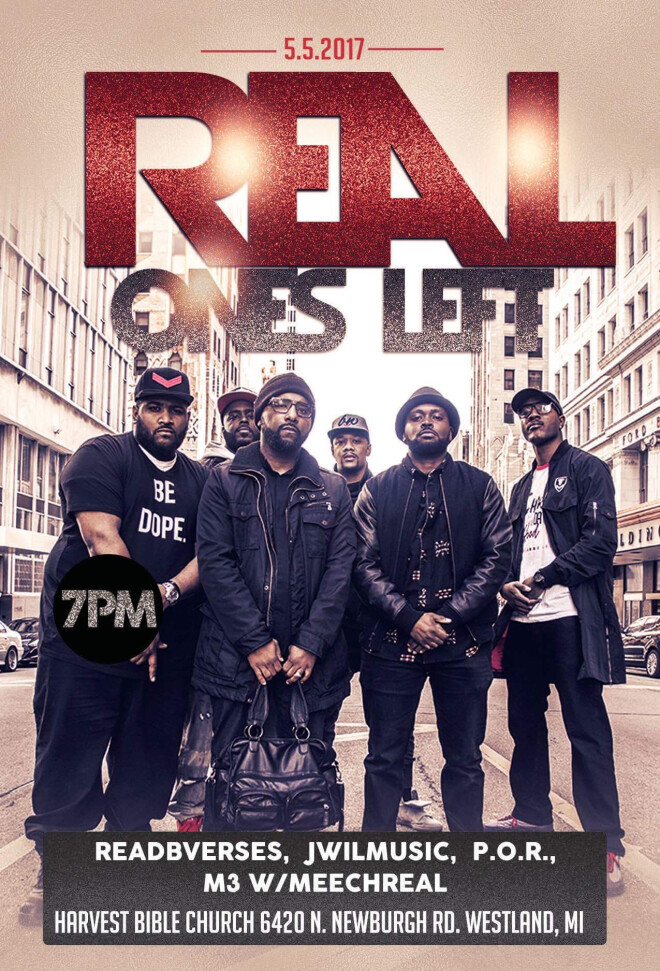 "Christian Rap Concert - ""Real Ones Left"""