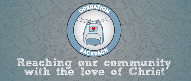 Operation Backpack!