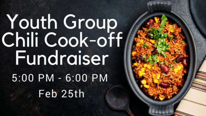 Youth Group Chili Cook Off Fundraiser