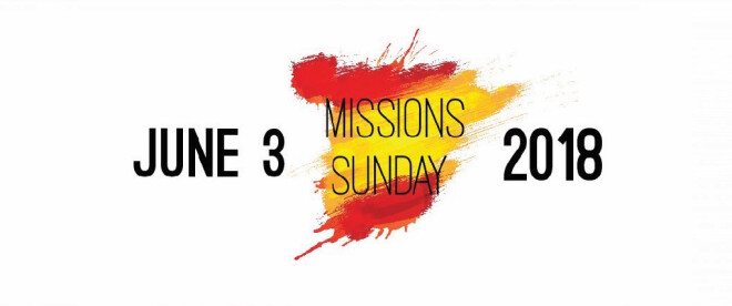 "Missions Sunday: ""Celebrating Sending"""
