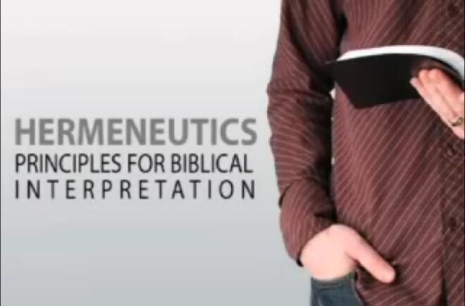 Zoom Class: Bible Study Methods